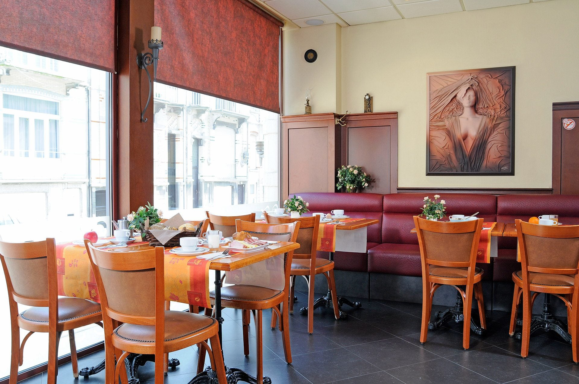 Petit déjeuner - Hotel Tropicana